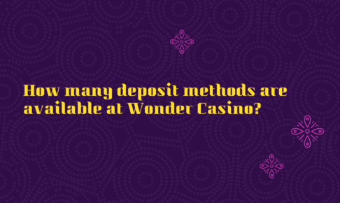 How many deposit methods are available at Wonder Casino?