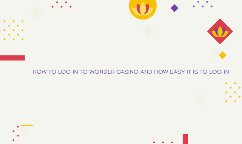 How to log in to Wonder Casino and how easy it is to log in
